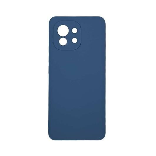 Θήκη σιλικόνης My Colors για Xiaomi Mi 11 Σκούρο Μπλέ (200-108-250)