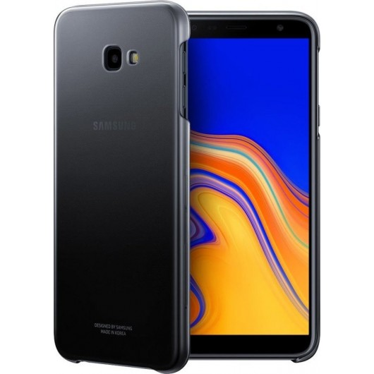 Official Gradation Cover - Σκληρή Θήκη Samsung Galaxy J4 Plus 2018 - Black (EF-AJ415CBEGWW)