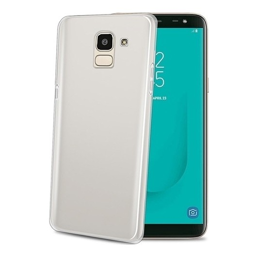 Celly Διάφανη Θήκη Σιλικόνης Samsung Galaxy J6 2018 - Transparent (GELSKIN758)