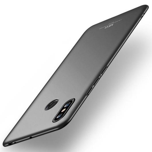 MSVII Σκληρή Θήκη για Xiaomi Mi Max 3 - Black (200-104-199)