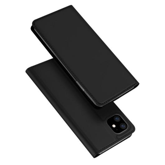 Duxducis Θήκη - Πορτοφόλι iPhone 11 - Black (200-104-704)