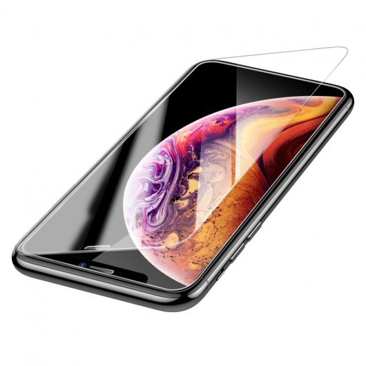 Baseus 3D Full Cover Tempered Glass για Apple iPhone 11 Pro Max  – Transaprent (200-104-500)