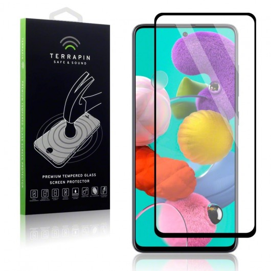 Terrapin Tempered Glass - Fullface Αντιχαρακτικό Γυάλινο Tempered Glass Samsung Galaxy A51