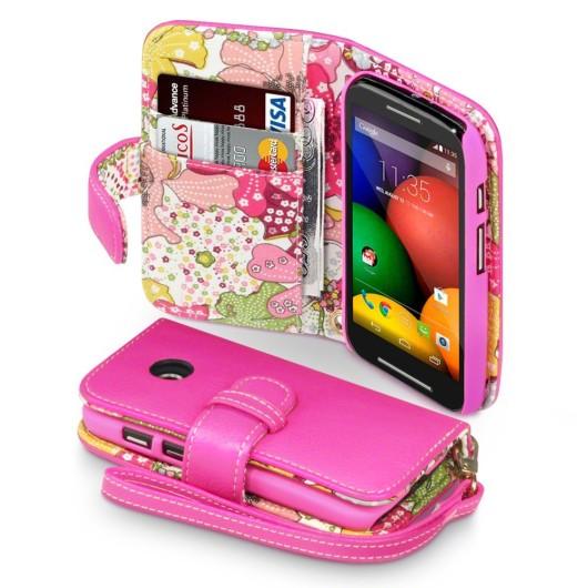 Θήκη Motorola Moto E - Πορτοφόλι