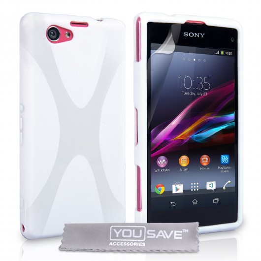 Sony Xperia Z1 Compact λευκή by YouSave