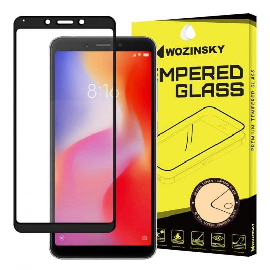 Wozinsky Full Cover Tempered Glass Black για Xiaomi Redmi 6