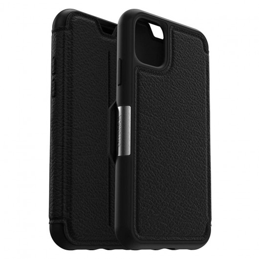 OtterBox iPhone 11 Strada Folio Shadow Black (77-62830)