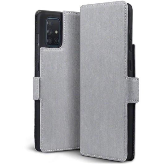 Terrapin Low Profile Θήκη - Πορτοφόλι Samsung Galaxy A71 - Grey (117-002a-221)