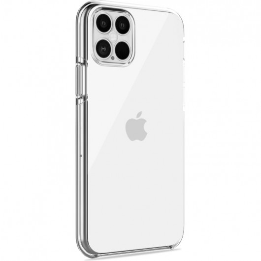 PURO Θήκη Impact Clear για iPhone 12 Pro Max - Διάφανο (IPC1267IMPCLTR)