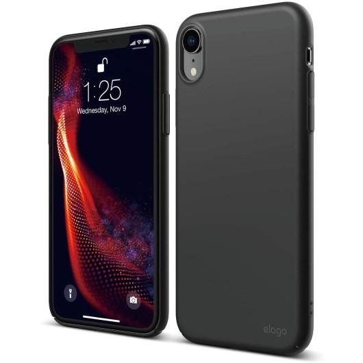 Elago Θήκη Slim Fit Apple iPhone XR - 0.4mm - Black (EIP18SM-6.1-BK)