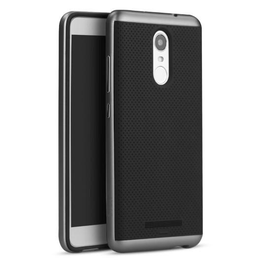 fb053ccab4 Θήκη Hybrid Case για Xiaomi Redmi Note 3 Grey by IPAKY