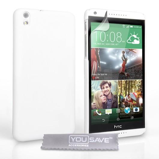 Θήκη για HTC Desire 816 by YouSave λευκή