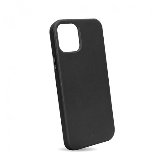 """PURO Cover leather look 'SKY' για iPhone 13 6.1""""- Μαύρο"""