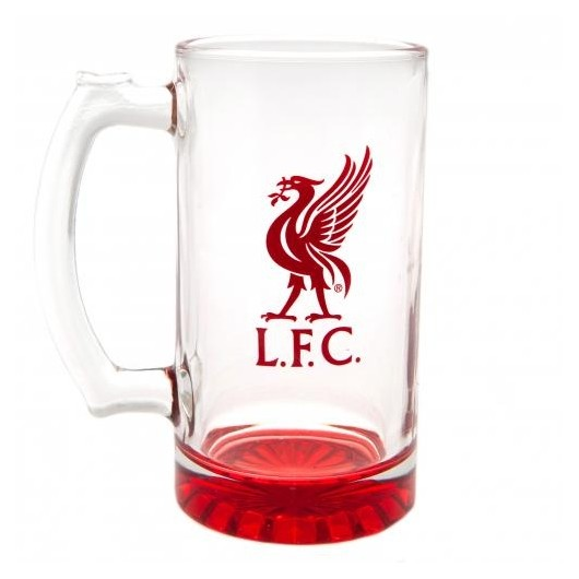 Mεγάλο ποτήρι μπύρας Liverpool -Επίσημο προϊόν