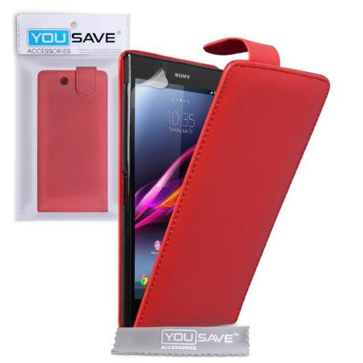 Θήκη για Sony Xperia Z Ultra by YouSave κόκκινη