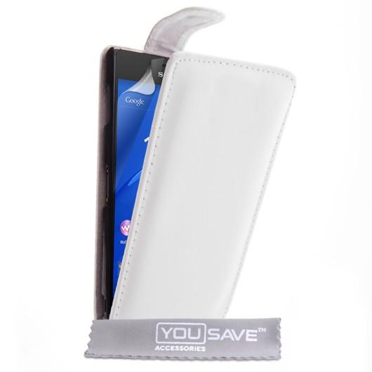 Θήκη για Sony Xperia Z3 by YouSave λευκή