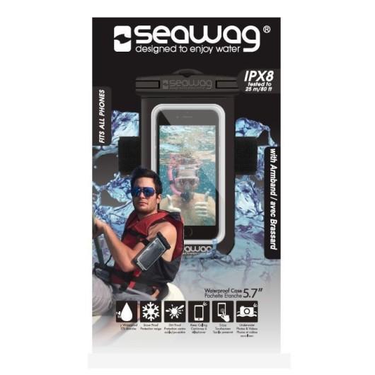 Seawag Αδιάβροχη θήκη μπράτσου με Έξοδο Ακουστικών για κινητά έως 5