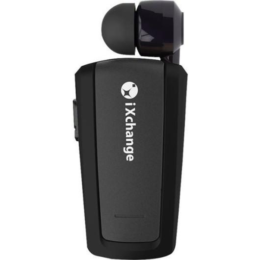 iXchange Mini Retractable Bluetooth Headset - Black (200-104-677)