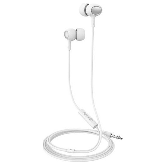 Celly UP500 Handsfree Ακουστικά - White (200-104-431)