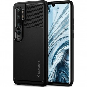 Spigen Θήκη Rugged Armor Xiaomi Mi Note 10 - Black (ACS00603)