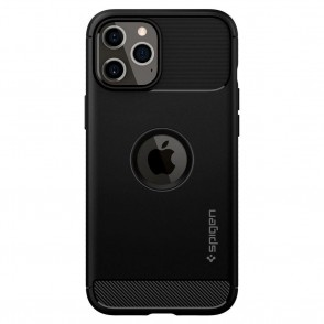 Spigen Θήκη Rugged Armor iPhone 12 Pro Max - Black (ACS01616)