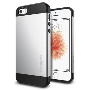 Spigen iPhone 5 / 5s / SE Slim Armor Satin Silver (041CS20249)