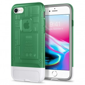 Spigen iPhone 8 / 7 Plus Classic C1 Sage-πράσινη (055CS24409)