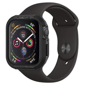 Spigen Apple Watch 4 44mm Case Rugged Armor Black (062CS24469)