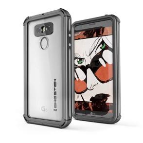 Ghostek Atomic 3 Αδιάβροχη Θήκη LG G6 - Black (CA-GHOCAS591-00)