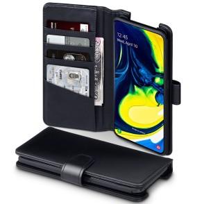 Terrapin Δερμάτινη Θήκη - Πορτοφόλι Samsung Galaxy A80 - Black (117-002a-159)
