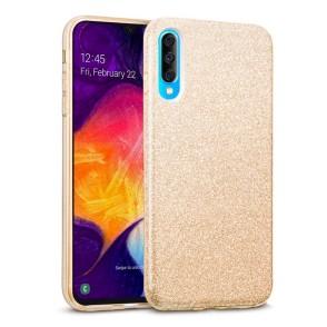 Shining Glitter Case για Samsung Galaxy A70 Gold - OEM (200-103-823)