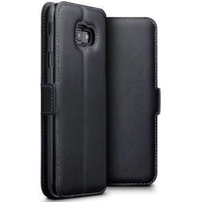 Terrapin Low Profile Δερμάτινη Θήκη - Πορτοφόλι Samsung Galaxy J4 Plus 2018 - Black (117-002a-093)