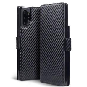Terrapin Low Profile Θήκη - Πορτοφόλι Carbon Fibre Samsung Galaxy Note 10 Plus - Black (117-002a-185)