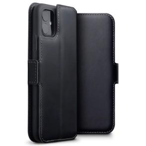 Terrapin Low Profile Δερμάτινη Θήκη - Πορτοφόλι iPhone 11 Pro - Black (117-129-001)