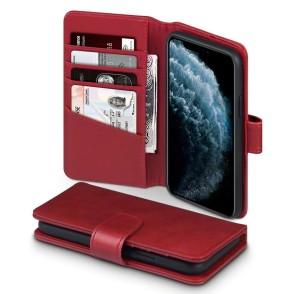 Terrapin Δερμάτινη Θήκη - Πορτοφόλι iPhone 11 Pro - Red (117-129-005)