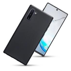 Terrapin Θήκη Σιλικόνης Samsung Galaxy Note 10 Plus - Black Matte (118-002-788)