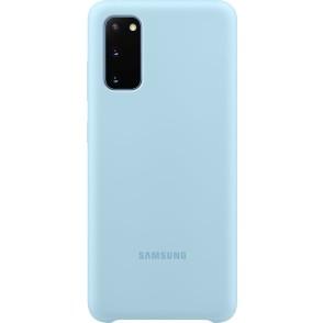 Official Samsung Θήκη Σιλικόνης Samsung Galaxy S20 - Sky Blue (EF-PG980TLEGEU)