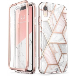 Supcase i-Blason Cosmo Ανθεκτική Θήκη iPhone XR - Marble (iPhoneXR-6.1-Cosmo-SP-Marble)