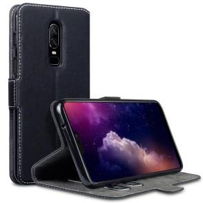 Terrapin Θήκη Πορτοφόλι Low Profile OnePlus 6 - Black (117-119-007)