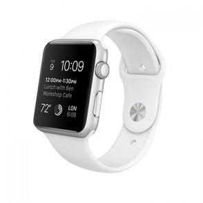 Kakapi Λευκό Silicone Λουράκι Apple Watch 42mm (200-103-676)