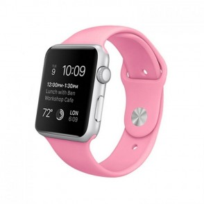 Kakapi Ροζ Silicone Λουράκι Apple Watch 42mm (200-103-675)