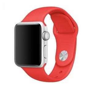 Kakapi Κόκκινο Silicone Λουράκι Apple Watch 42mm
