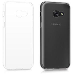 Διάφανη Θήκη σιλικόνης για Samsung Galaxy A3(2017) by KW (200-102-065)