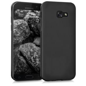 Θήκη σιλικόνης μαύρη  για Samsung Galaxy A3(2017) by KW (200-102-079)