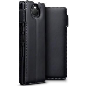 Terrapin Low Profile Δερμάτινη Θήκη - Πορτοφόλι Sony Xperia 10 - Black (117-005-644)