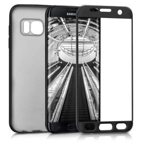 Θήκη Full Body για Samsung Galaxy S7 edge metallic black by KW (200-102-488)