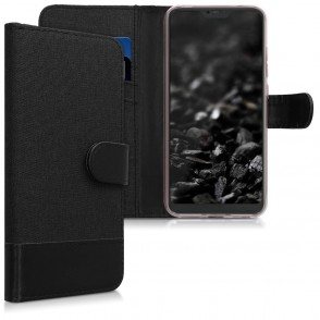 Θήκη Πορτοφόλι για Xiaomi Mi A2 Lite / Redmi 6 Pro μαύρο By KW (200-103-273)