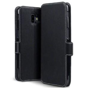 Terrapin Low Profile Θήκη - Πορτοφόλι Samsung Galaxy J6 Plus 2018 - Black (117-002a-097)