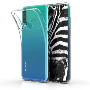 Θήκη Σιλικόνης για Huawei P30 Lite Crystal Case by KW (200-103-594)