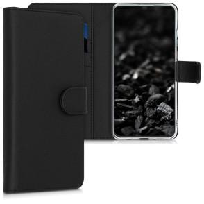 Θήκη πορτοφόλι μαύρη για Huawei P30 Lite by KW (200-103-599)